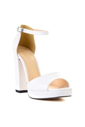 Bambi Beyaz Kadın Açık Ayakkabı L0674001509 2