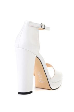 Bambi Beyaz Kadın Açık Ayakkabı L0674001509 3