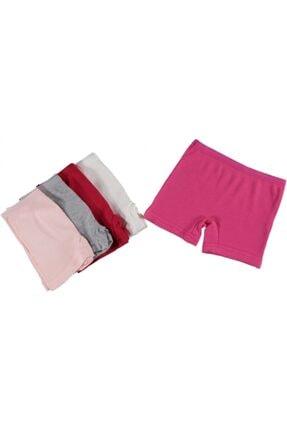 Dondeza 6'lı Düz Renk Kaşkorse Kız Çocuk Boxer 132575 0