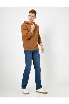 Koton Erkek Robert Regular Fit Jean Pantolon 0