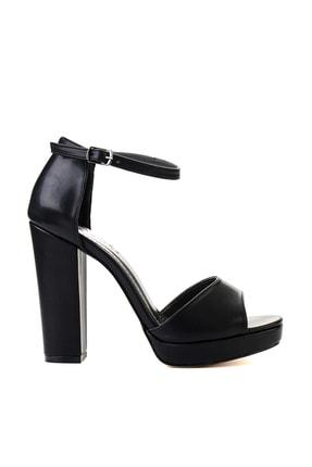 Bambi Siyah Kadın Abiye Ayakkabı L0674001509 1