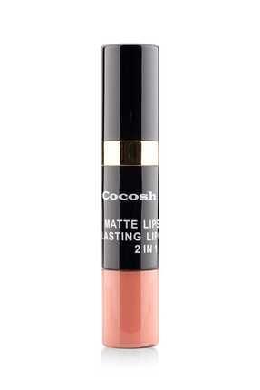 Cocosh She Ruj - Matte Smile Lipstick & Lipgloss 2 In 1 02 Latte 8681569700475 2