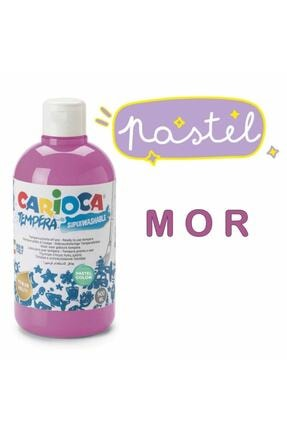 Carioca Tempera Pastel Renkler Yıkanabilir Sulu Boya Seti 6 Renk X 500 ml. 2