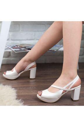 Adım Adım Sedef Yüksek Topuk Abiye Kadın Ayakkabı • A192ymon0001 1