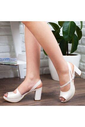 Adım Adım Sedef Yüksek Topuk Abiye Kadın Ayakkabı • A192ymon0001 3