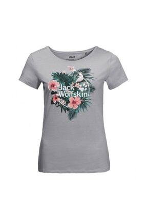 Jack Wolfskin Tropical Tee Kadın T-shirt - 1806611-6111 0