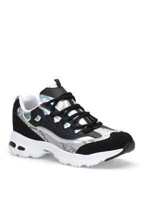 Dark Seer Siyah Beyaz Kadın Sneaker 4