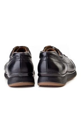 Cabani Bağcıklı - Erkek Ayakkabı Siyah Deri 3