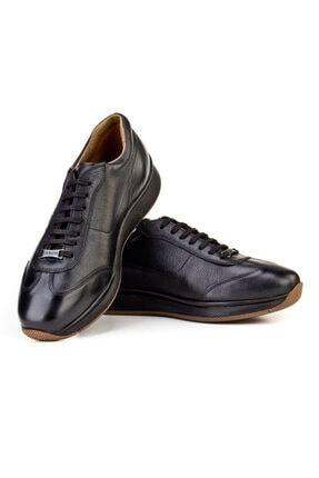Cabani Bağcıklı - Erkek Ayakkabı Siyah Deri 4