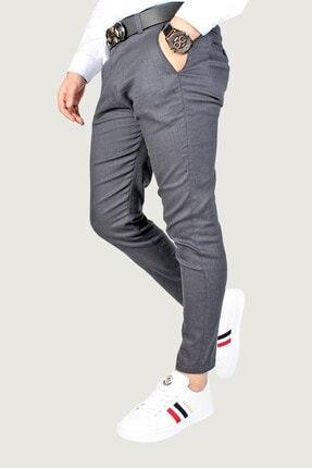 Terapi Men Erkek Keten Pantolon 8k-2200174-008 Lacivert 1