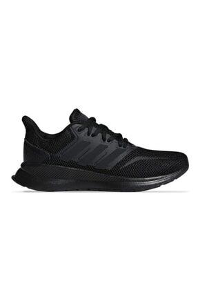 adidas F36549 Siyah Siyah Siyah Unisex Koşu Ayakkabısı 100409060 3