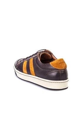 Cabani Bağcıklı Günlük Erkek Ayakkabı Kahve Floter Deri 3