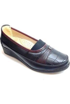50800 Topuk Dikenine Özel Ortapedik Anne Ayakkabısı Siyah resmi