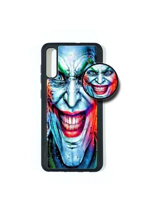 AVS KILIF Samsung A 70 Popsocketli Kılıf Epoksi & Silikon Arka Kapak Joker 0