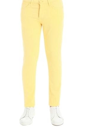 Efor 037 Slim Fit Sarı Jean Pantolon 2