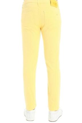 Efor 037 Slim Fit Sarı Jean Pantolon 3