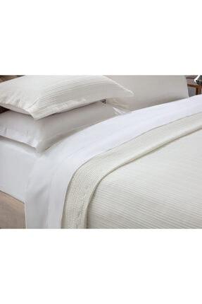 Madame Coco Drury Çift Kişilik Yatak Örtüsü - Beyaz 1