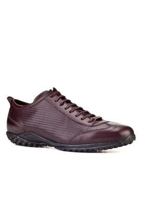 Cabani Bağcıklı Erkek Ayakkabı Kahve Deri 0