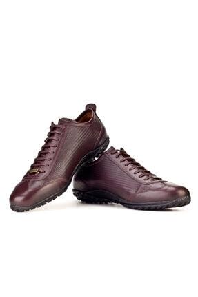 Cabani Bağcıklı Erkek Ayakkabı Kahve Deri 4
