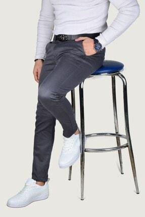 Terapi Men Erkek Keten Pantolon 9y-2200203-020 Füme 1