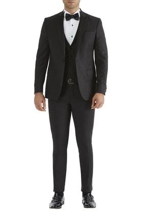 تصویر از کت و شلوار مردانه سیاه
