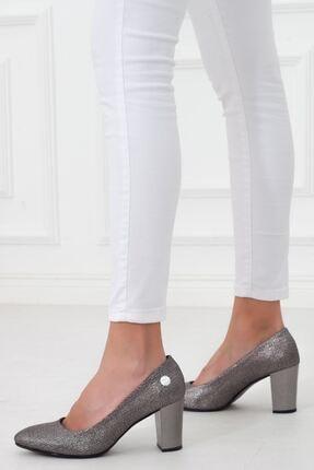 Mammamia Platin Topuklu Kadın Stiletto Ayakkabı • A202ydyl0069 4