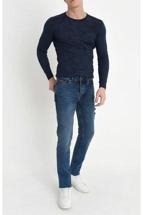 Efor 044 Slim Fit Mavi Jean Pantolon 3