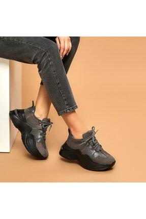 Butigo ARKİN Gri Kadın Outdoor Ayakkabı 100525589 0