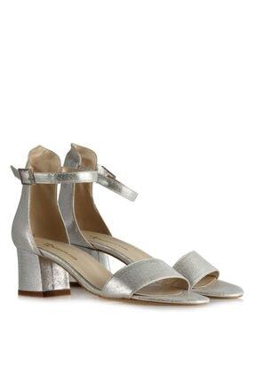 Topuklu Ayakkabı Sandalet Lame Yaldızlı 10321LYL