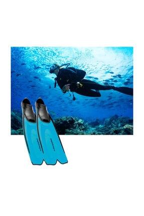 Amphibian Pro Amphıbıan Pro Fluıd Yüzme Ve Dalış Paleti - Mavi 1