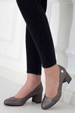 Mammamia Platin Topuklu Kadın Stiletto Ayakkabı • A202ydyl0061 4
