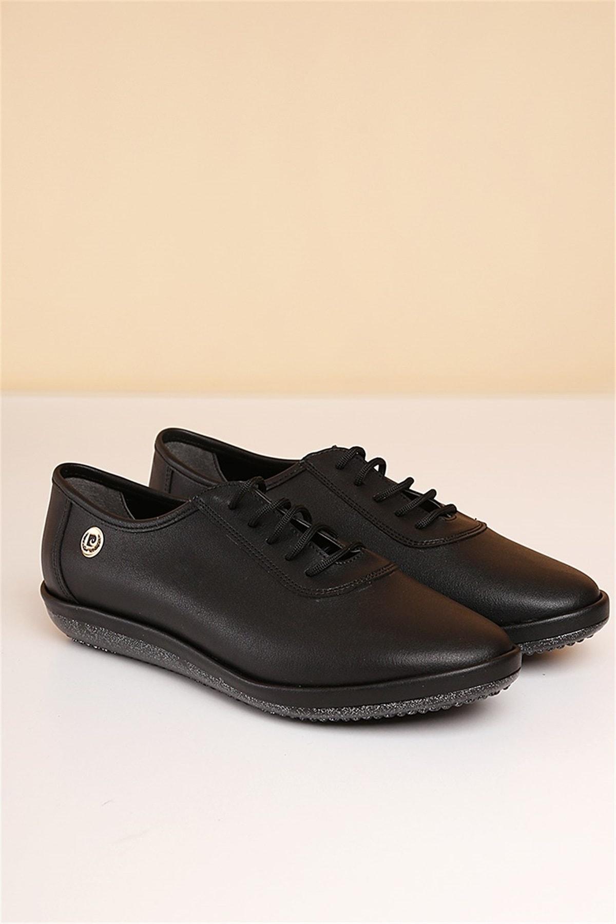 Pc-50105 Siyah Kadın Ayakkabı