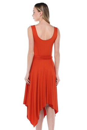 Quincey Asimetrik Elbise 3