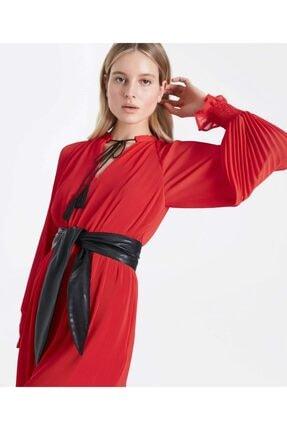 İpekyol Kemerli Pilisole Elbise 2