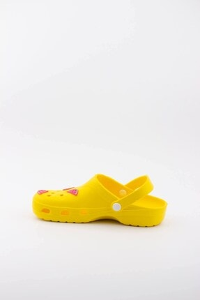 Akınalbella Kadın Sarı Karpuz Figürlü Yazlık Terlik 2