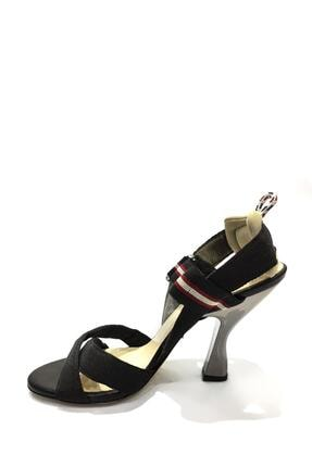 Flower Tekstil Malzemesi Klasik Topuklu Ayakkabı Flw19y-a9184 1