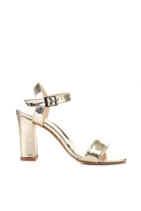 Bambi Altın Kadın Klasik Topuklu Ayakkabı K05503740039 1