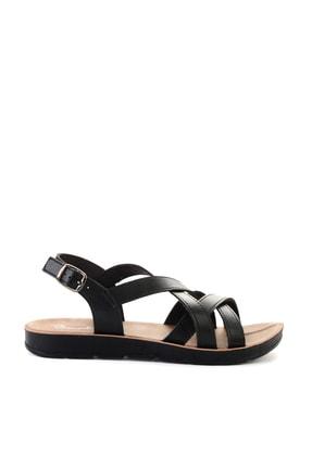 Bambi Sıyah Kadın Sandalet L0642111209 1