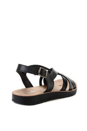 Bambi Sıyah Kadın Sandalet L0642111209 3
