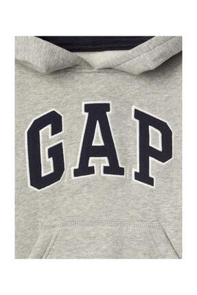 GAP Logolu Kapüşonlu Sweatshirt 2
