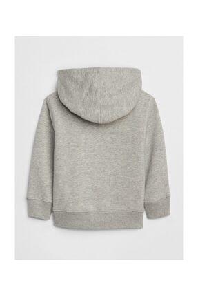 GAP Logolu Kapüşonlu Sweatshirt 3
