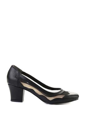 Bambi Siyah Kadın Klasik Topuklu Ayakkabı L07082130 1