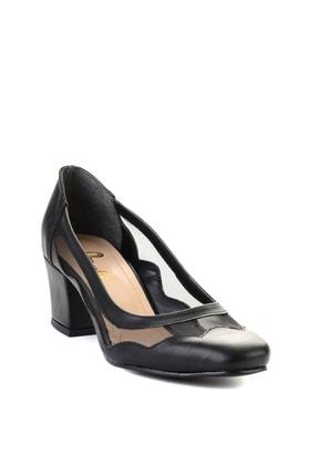 Bambi Siyah Kadın Klasik Topuklu Ayakkabı L07082130 2