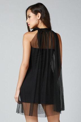 Quincey Boyundan Bağlamalı Elbise 2