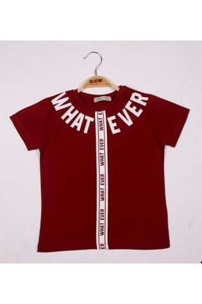 Picture of Erkek Çocuk What Ever Baskılı Tişört
