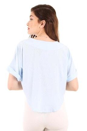 Bigdart 3675 Üç Düğmeli Salaş Bluz 4