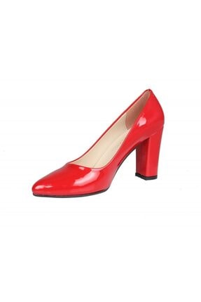 PUNTO 462003 Kırmızı Rugan Kadın Stiletto 3