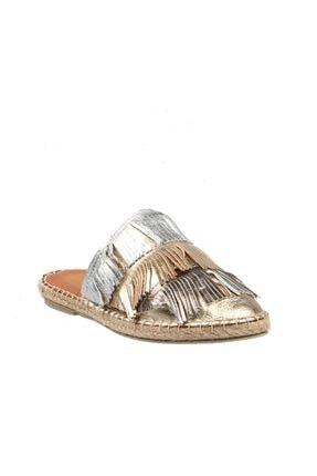 Hammer Jack Altın Kadın Ayakkabı 195 1683-z 2