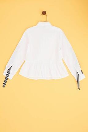 Tyess Kız Çocuk Beyaz Gömlek 1