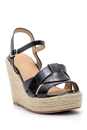 Derimod Kadın Dolgu Topuklu Sandalet 1
